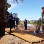 Bangui: Rwanda National Police  developed a project of clean water to the citizen